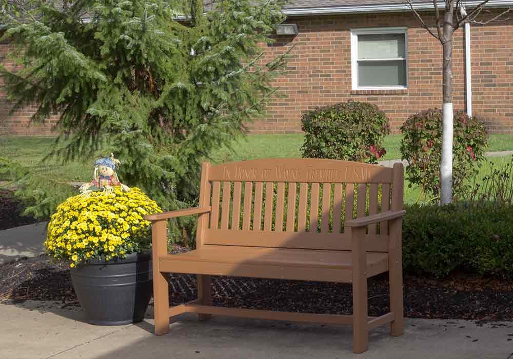 Andover-Village-bench